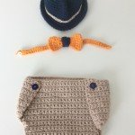 tenue bébé crochet dandy (1)